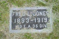 Pvt Fred Lloyd Jones