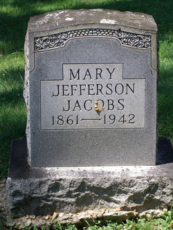 Mary Jefferson <I>Beach</I> Jacobs