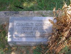 George Allie Gossom