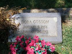 Dora <I>Pickett</I> Gossom