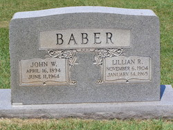 John William Baber, Sr