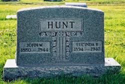 Lucinda <I>Rogers</I> Hunt