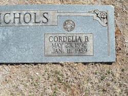 Cordelia B. <I>Wilburn</I> Nichols