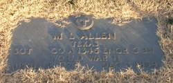 Sgt M. L. Allen