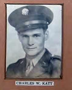 Sgt Charles W Katt