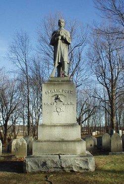 Skillin Post 47 G. A. R. Monument