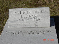 Alma <I>Beville</I> Reagan