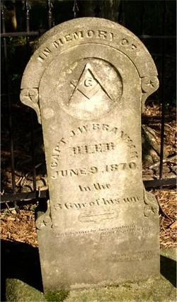 CPT James William Branham (Unknown-1870) - Find A Grave Memorial