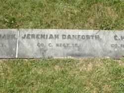 Pvt Jeremiah Danforth