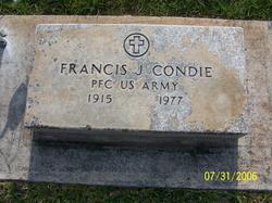 Francis J Condie