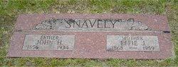 Effie Jane <I>Bagley</I> Snavely