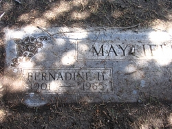 Bernadine H. <I>Tirrill</I> Mayfield