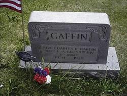 Sgt Charles R Gaffin
