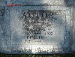 Frances Margaret <I>Jones</I> Actor