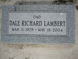 "Dale Richard ""Dick"" Lambert"