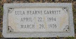 Lula <I>Garrett</I> Hearne