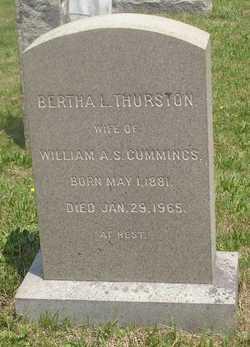 Bertha L. <I>Thurston</I> Cummings