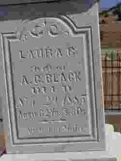 Laura C Black