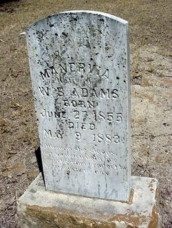 Manervia A. <I>Wicker</I> Adams