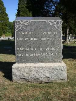 Margaret America Ann <I>Fawley</I> Wright