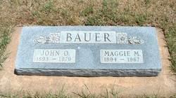 Maggie M <I>Bickel</I> Bauer