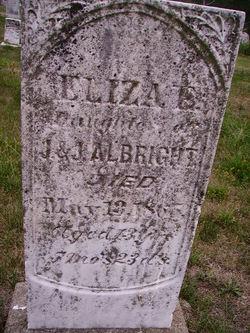 Eliza E Albright