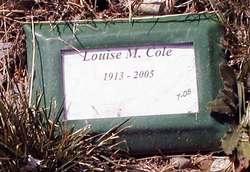 Louise Monica <I>Keppler</I> Cole