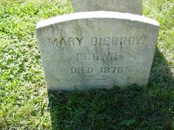 Mary <I>Disbrow</I> Brown