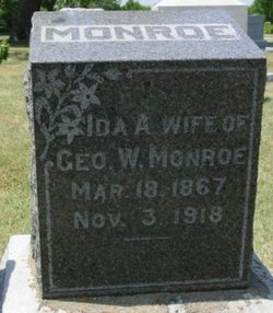 Ida Adelia <I>Miner</I> Monroe