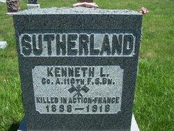 PFC Kenneth Lee Sutherland