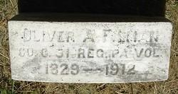 Pvt Oliver A. Filman