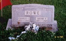 Mayme Fayette <I>Briggs</I> Rowe