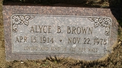 Alyce B. Brown