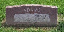 Fredrick F. Adams