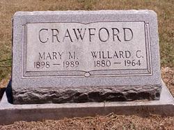 Mary Magdeline <I>Swarthout</I> Crawford