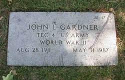 John L Gardner