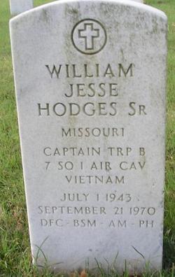 Capt William Jesse Hodges, Sr