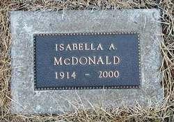 "Isabella Alison ""Ella"" <I>Swanston</I> McDonald"