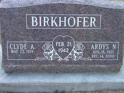 Clyde A Birkhofer