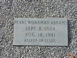 Pearl <I>Workman</I> Abrams