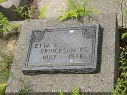 Etta Ella <I>Johnston</I> Cruickshanks
