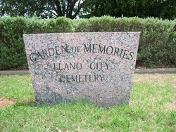 Llano City Cemetery