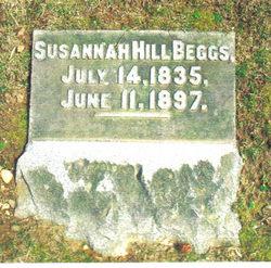 Susannah <I>Hill</I> Beggs
