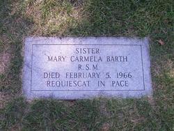 Sr Mary Carmela Barth, RSM