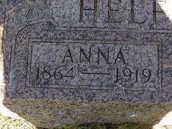 Anna Annie <I>Zoulek</I> Helferich