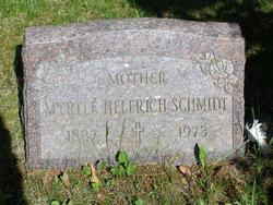 Myrtle Bell <I>Helferich</I> Schmidt