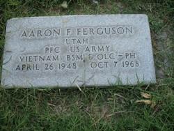 PFC Aaron Floyd Ferguson