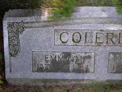 Emma M <I>Stoneburner</I> Colerick