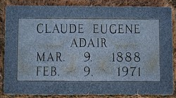 Claude Eugene Adair