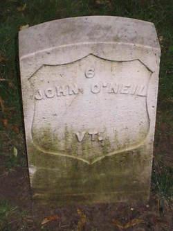 Pvt John O'Neil